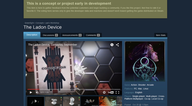 Steam Greenlight Concepts page screenshot